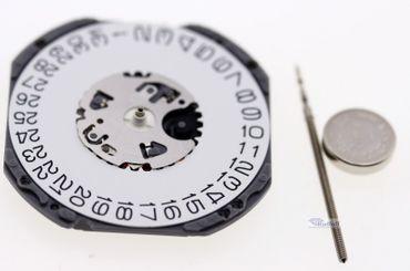 Uhrwerk Shiojiri VJ42 Ersatzwerk für Armbanduhr Quarz Analog 11 ½ Linien