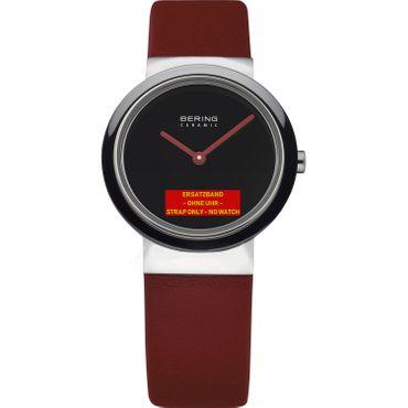 Bering Original Lederband Uhrenarmband für Modell 10729-642 Lieferung ohne Uhr