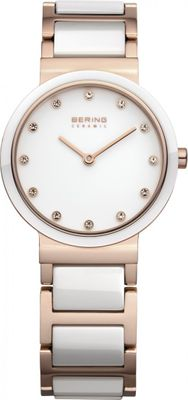 BERING Damen Uhr 10729-766 Ceramic Stahl Safirglas ultraslim design ladies watch