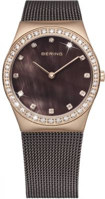 BERING Uhr Damenuhr 12426-262 Safirglas ultra slim design ladies watch Edelstahl