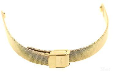 Uhren Armband Skagen Denmark 233XSGG Ersatzband Edelstahl PVD gold Mílanaise Mesh