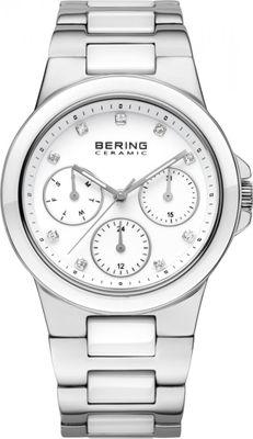 BERING Damen Uhr Keramik 32237-754 Safirglas Ceramic ladie´s watch Edelstahl