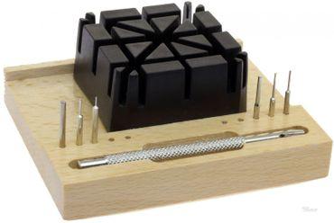 Uhrmacher Werkzeug zum Austoßen der Stifte bei Armbändern Uhrenarmband kürzen