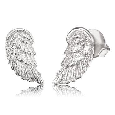 Engelsrufer original Ohrschmuck ERE-WING-ST 925 Silber rhodiniert Flügel klein