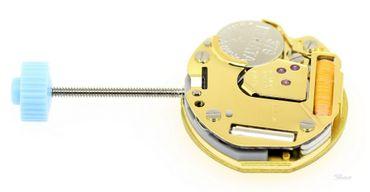 Uhrwerk Ronda 751FE Ersatzwerk für Armbanduhr Quarz Analog 5 ½ Linien