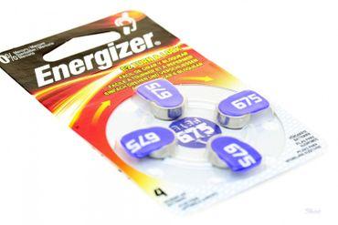 Hörgeräte Batterie 4 Stück per Pack Energizer  AZ 675 Zink Luft hearing aid