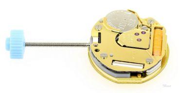 Uhrwerk Ronda 751E (ETA-Zeigerloch) Ersatzwerk für Armbanduhr Quarz Analog 5 ½ Linien