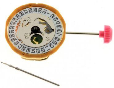 Uhrwerk Miyota 9T15 Ersatzwerk für Armbanduhr Quarz Analog 6 ¾ Linien