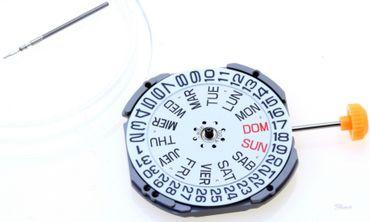 Uhrwerk Miyota 1S02 Ersatzwerk für Armbanduhr Quarz Analog 11 ½ Linien
