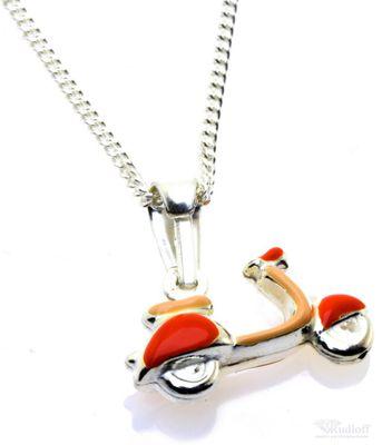 Kinderkette mit Anhänger Roller echt Silber 9010065120011