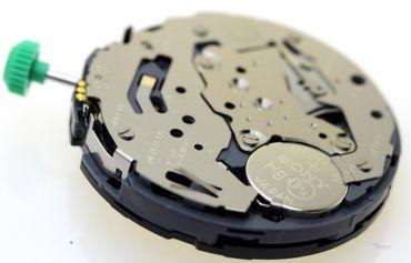 Uhrwerk Miyota OS2A Ersatzwerk für Armbanduhr Quarz Analog 13 ½ Linien