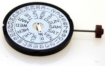 Uhrwerk Ronda 517 Ersatzwerk für Armbanduhr Quarz Analog 11 ½ Linien