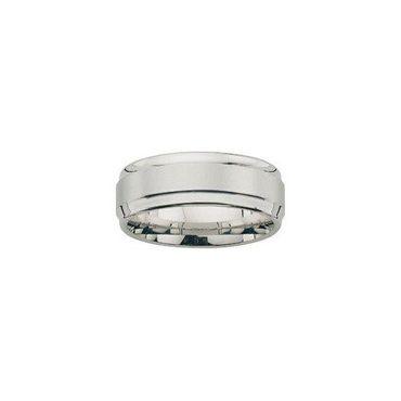 Freundschaftsring Sterling Silber 925 rhodiniert 6mm BFR99039