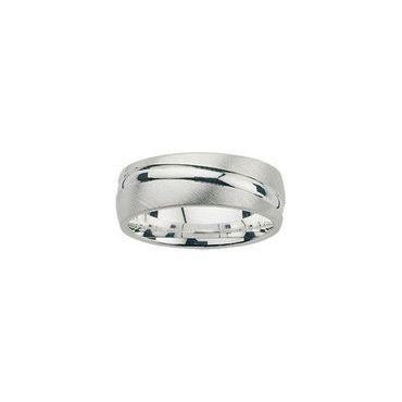Freundschaftsring Sterling Silber 925 rhodiniert 6mm BFR99015