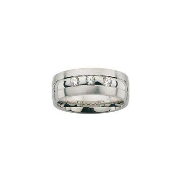 Freundschaftsring Sterling Silber 925 rhodiniert mit Zirkonia 6,5mm vergoldet BFR99061