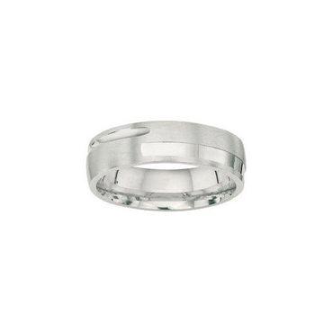 Freundschaftsring Sterling Silber 925 rhodiniert 6mm BFR99069