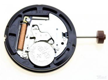 Uhrwerk Ronda 515.24D (Dual-Time) Ersatzwerk für Armbanduhr Quarz Analog 11 ½ Linien