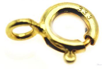 Federring o Bund Verschluß für Kette 333 Gelbgold 8kt 820-xxx 5-10 mm Durchmesser