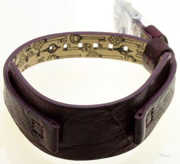 Fossil Original Lederband Ersatzband Armband JR9515 JR9514 ohne Uhr m Federstegen 12 mm