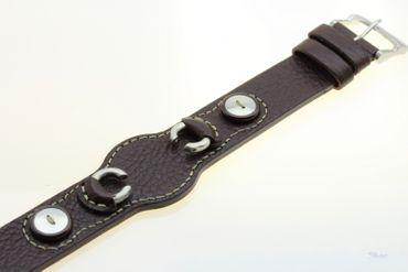 Fossil Original Lederband Ersatzband Armband JR1014 JR1015  ohne Uhr