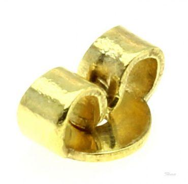Ohrmutter Ohrstecker Schraube Klemmmutter 8kt echt Gold 333 Ear Nuts 5