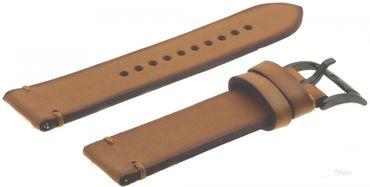 Fossil Original Lederband Ersatzband Armband CH2695 mit Federstegen 22 mm