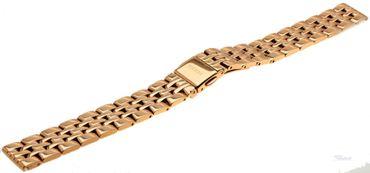 Fossil Ersatzband Uhrenarmband für Jacqueline ES3435 Edelstahl rosé 14mm
