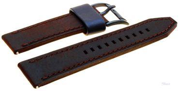 Fossil Original Lederband Ersatzband Armband CH2782 CH2835 CH2666 FS4656 mit Federstegen 22mm