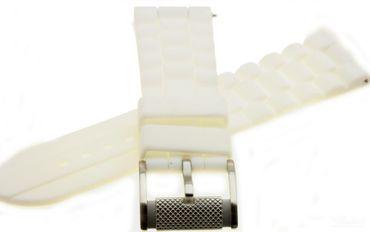 Fossil Original Kautschuckband Ersatzband Armband FS4805 FS4605 mit Federstegen 24 mm