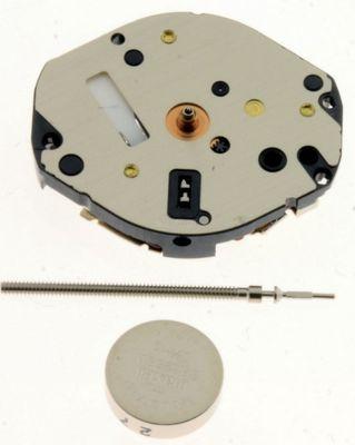 Uhrwerk Shiojiri Y121-H4 Ersatzwerk für Armbanduhr Quarz Analog 6 ¾ Linien