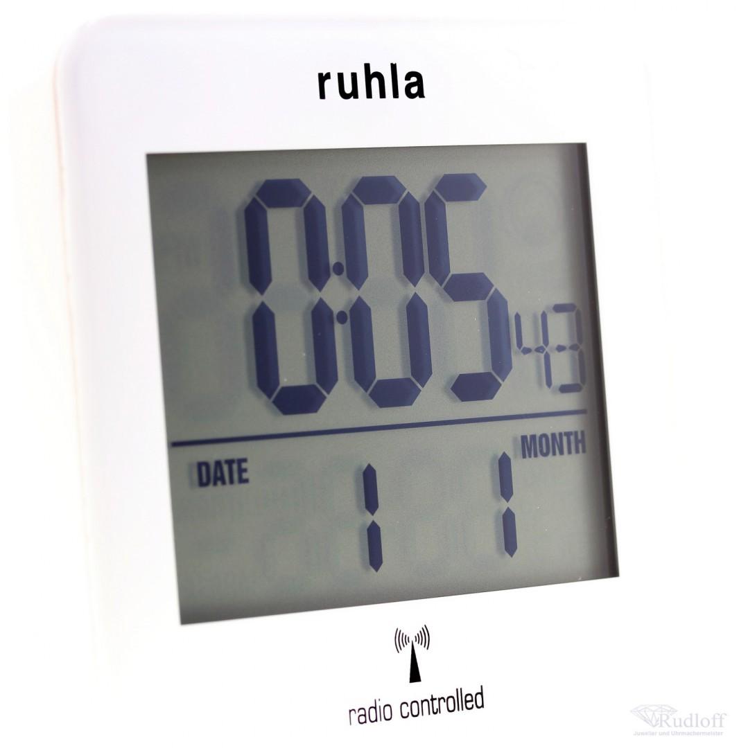 Funkwecker Digital Mit Beleuchtung | Funk Wecker Ruhla Digital Lcd Licht Multilingual R223 Funkuhr Alarm