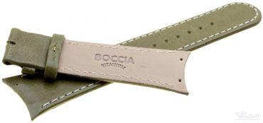 Boccia Original Lederband Armband für Uhr Modell 3161-11