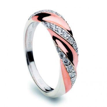 Silver Trends Damen Ring mit Stein ST1183 Sterlingsilber 925 Silber