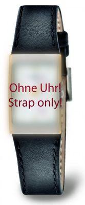 Boccia Original Lederband Armband für Uhr Modell 3186-03
