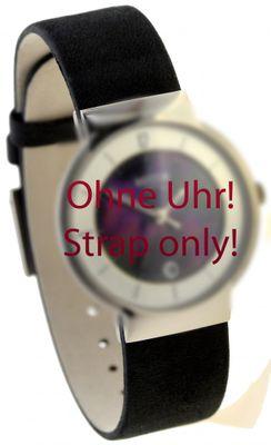 Boccia Original Lederband Armband für Uhr Modell 3123-10