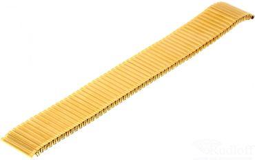 Flexuhrband Edelstahl TNG-vergoldet Uhrenarmband Zugband Haka-Flex HT/xx12