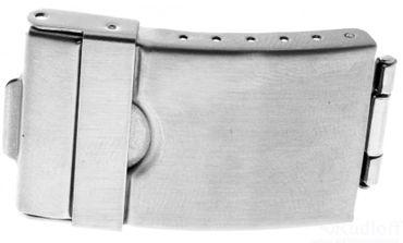 Ersatzschließe für Uhrenarmband Stahl