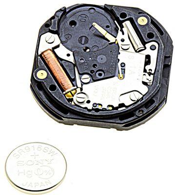 Uhrwerk Shiojiri VX3J Ersatzwerk für Armbanduhr Quarz Analog 10 ½ Linien