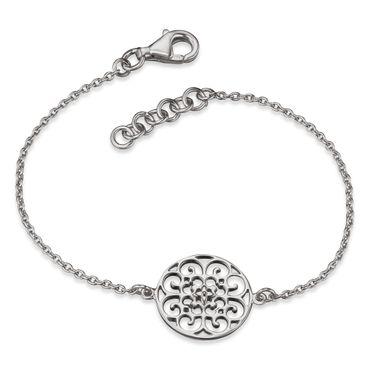 Engelsrufer Armband Ornament Silber rhodiniert, 16+2cm