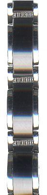 Gardé by Ruhla Set elegante Damenuhr und Armband Edelstahl Keramik 89603-SET