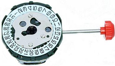 Uhrwerk Miyota 2015 (Datum an 3) Ersatzwerk für Armbanduhr Quarz Analog 6 ¾ Linien