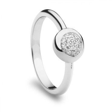 Silver Trends Damen Ring mit Stein ST1154 Sterlingsilber 925 Silber
