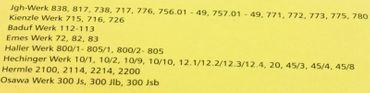 Zeiger Balken Alu schwarz Quarz Wand Tischuhren Junghans 838, 738 120mm