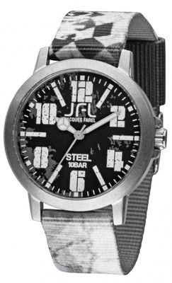 JFL by Jacques Farel Jugend-Uhr Hipster-Style Racing CRS 006