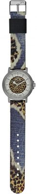 JFL by Jacques Farel Jugend-Uhr Hipster-Style Leopard CRS 011