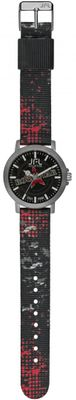 JFL by Jacques Farel Jugend-Uhr Hipster-Style Rock Star CRS 012