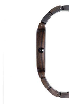 Kerbholz Armbanduhr aus Holz Hans Sandelholz