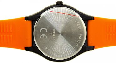 Regent sportliche Herrenuhr orange 1803.46.63