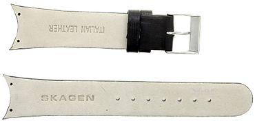 Uhrenarmband für Skagen 583SSLC schwarz Ersatzband