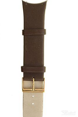Uhrenarmband für Skagen 582XLRLM Leder braun Schließe rosé Ersatzband 582XL